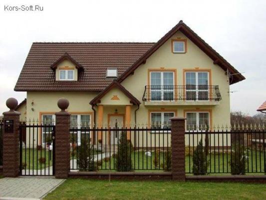 красивые загородные дома с участком фото
